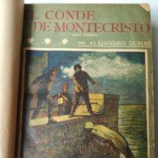 Libros antiguos: EL CONDE DE MONTECRISTO Y LOS MISERABLES. Lote 209196145