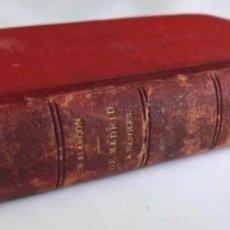 Libros antiguos: DE MADRID A NÁPOLES POR PEDRO ANTONIO DE ALARCÓN. 1886.. Lote 126256287