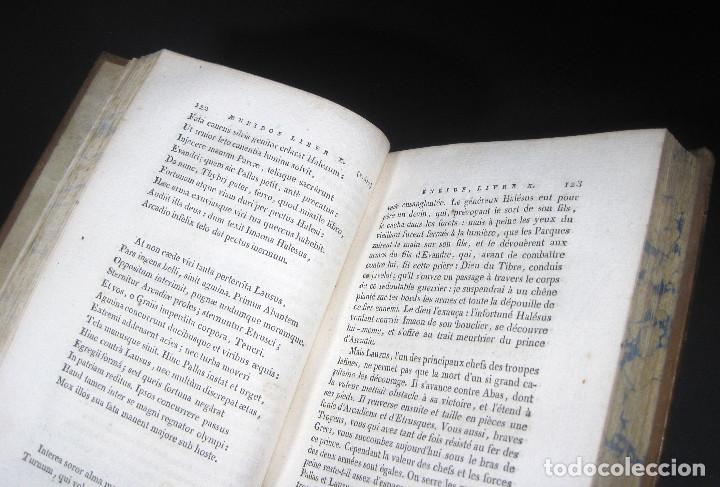 Libros antiguos: Año 1802 Virgilio La Eneida Antigua Roma Grabados a plena página Vida de Clásicos grecolatinos - Foto 11 - 109318951