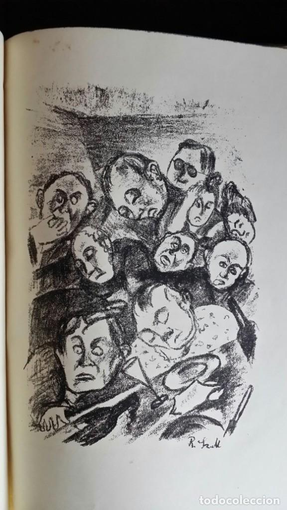 Libros antiguos: Londoner Bilder, de Dickens, 16 litografías de Szalit-Marcus y ex libris de la actriz Else Pinkus - Foto 9 - 210400342