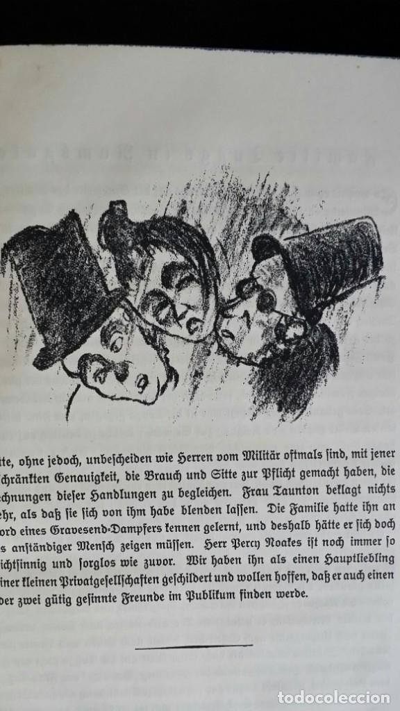 Libros antiguos: Londoner Bilder, de Dickens, 16 litografías de Szalit-Marcus y ex libris de la actriz Else Pinkus - Foto 10 - 210400342