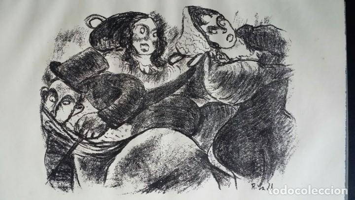 Libros antiguos: Londoner Bilder, de Dickens, 16 litografías de Szalit-Marcus y ex libris de la actriz Else Pinkus - Foto 12 - 210400342