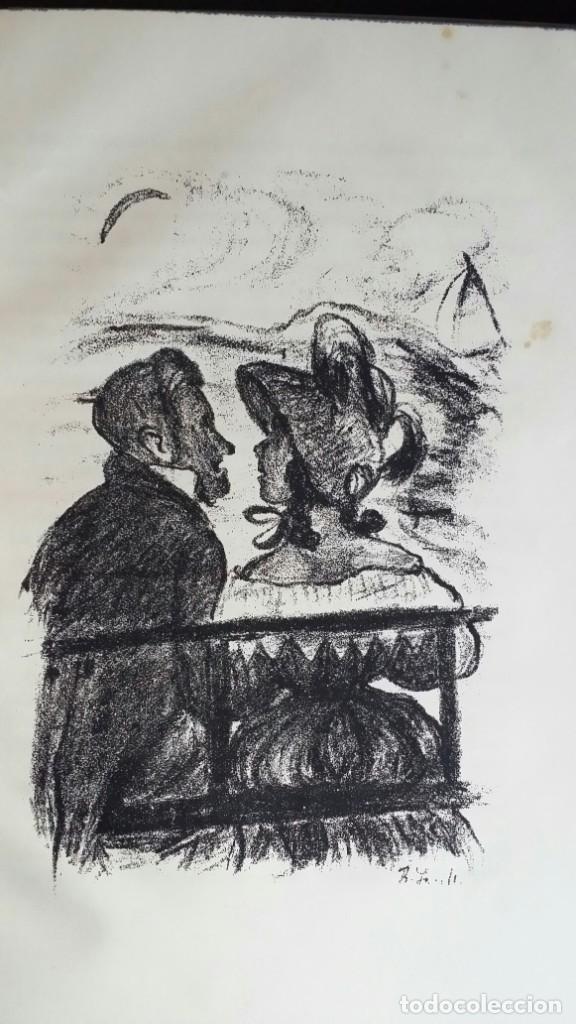 Libros antiguos: Londoner Bilder, de Dickens, 16 litografías de Szalit-Marcus y ex libris de la actriz Else Pinkus - Foto 13 - 210400342