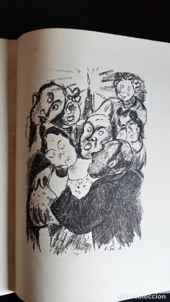 Libros antiguos: Londoner Bilder, de Dickens, 16 litografías de Szalit-Marcus y ex libris de la actriz Else Pinkus - Foto 15 - 210400342