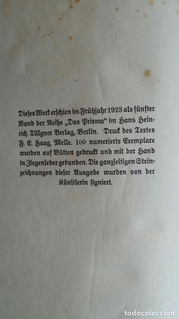 Libros antiguos: Londoner Bilder, de Dickens, 16 litografías de Szalit-Marcus y ex libris de la actriz Else Pinkus - Foto 16 - 210400342