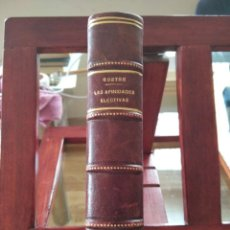 Libros antiguos: GOETHE-LAS AFINIDADES ELECTIVAS-COMPLETA DOS LIBRITOS ENCUADERNADOS.1934.-35-ESPASA. Lote 210612177