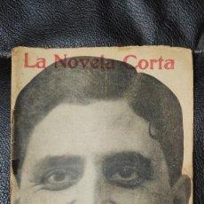 Libros antiguos: LOS NIETOS DE SAN IGNACIO POR JOAQUIN BELDA LA NOVELA CORTA NUMERO 25. Lote 211424539