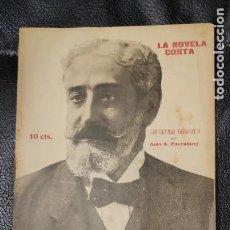 Libros antiguos: LAS ULTIMAS VACACIONES POR JUAN A. CAVESTANY LA NOVELA CORTA NUMERO 215. Lote 211425742