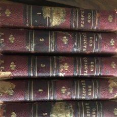 Libros antiguos: EL INGENIOSO HIDALGO DON QUIJOTE DE LA MANCHA 1832 SEIS TOMOS. Lote 211608502