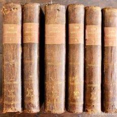 Libros antiguos: DON QUIXOTE DE LA MANCHA MIGUEL DE CERVANTES 1787 V,IBARRA MADRID 6 TOMOS 3ª EDICION. Lote 211667829