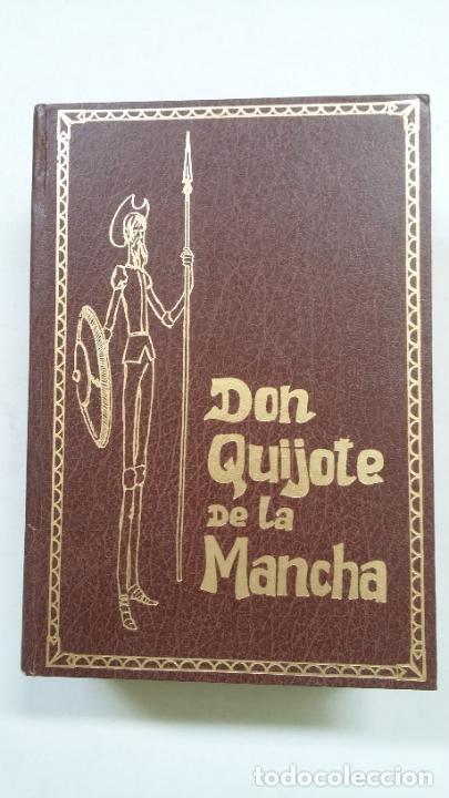 EL INGENIOSO HIDALGO DON QUIJOTE DE LA MANCHA. MIGUEL CERVANTES. ILUSTRACIONES GUSTAVO DORE. TDK377 (Libros antiguos (hasta 1936), raros y curiosos - Literatura - Narrativa - Clásicos)