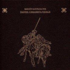 Libri antichi: DOS TOMOS DON QUIJOTE DE LA MANCHA - ILUSTRADO DANIEL URRABIETA VIERGE - EDICION LUJO - PRECINTADO. Lote 211999896