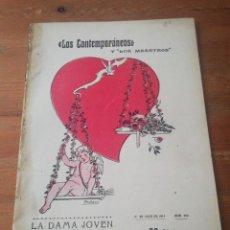 Libros antiguos: LOS CONTEMPORÁNEOS. NÚMERO 292. 1914. LA DAMA JOVEN. EMILIA PARDO BAZÁN.. Lote 212512856