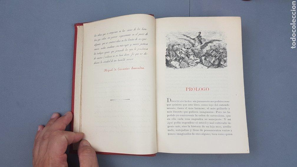 Libros antiguos: 2 Tomos de DON QUIJOTE DE LA MANCHA. DIBUJOS DE GUSTAVO DORÉ. ED. LUIS TASSO SERRA. BARCELONA. - Foto 6 - 212647612
