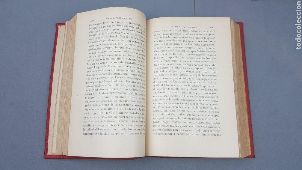 Libros antiguos: 2 Tomos de DON QUIJOTE DE LA MANCHA. DIBUJOS DE GUSTAVO DORÉ. ED. LUIS TASSO SERRA. BARCELONA. - Foto 7 - 212647612