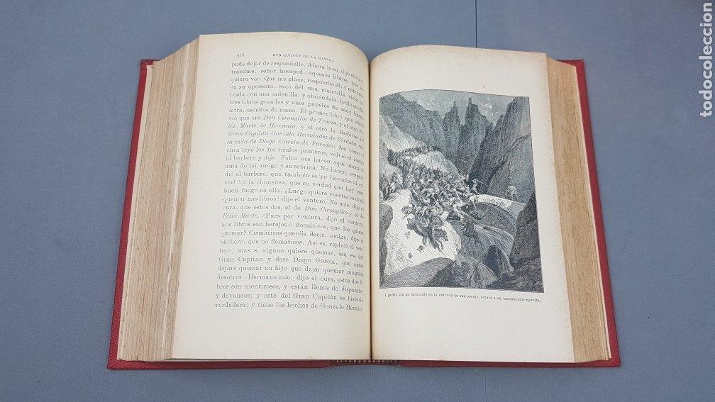 Libros antiguos: 2 Tomos de DON QUIJOTE DE LA MANCHA. DIBUJOS DE GUSTAVO DORÉ. ED. LUIS TASSO SERRA. BARCELONA. - Foto 10 - 212647612