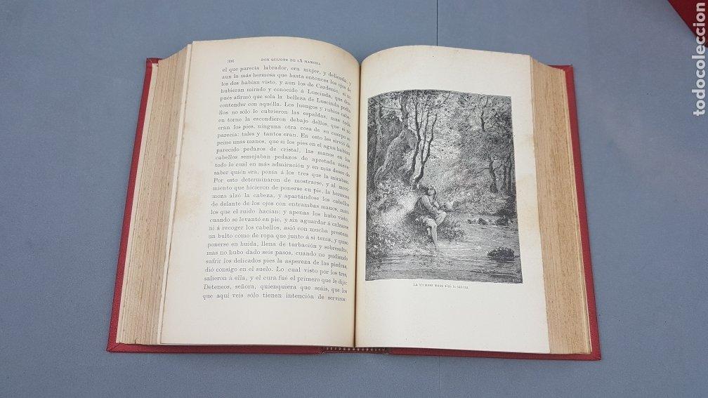 Libros antiguos: 2 Tomos de DON QUIJOTE DE LA MANCHA. DIBUJOS DE GUSTAVO DORÉ. ED. LUIS TASSO SERRA. BARCELONA. - Foto 12 - 212647612