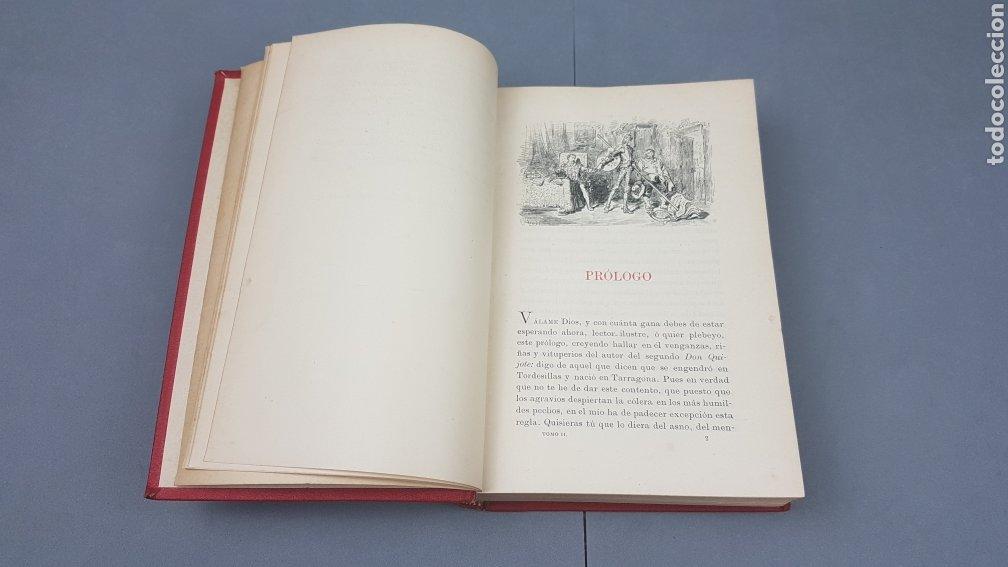 Libros antiguos: 2 Tomos de DON QUIJOTE DE LA MANCHA. DIBUJOS DE GUSTAVO DORÉ. ED. LUIS TASSO SERRA. BARCELONA. - Foto 14 - 212647612