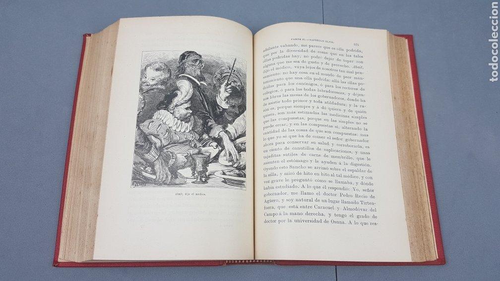 Libros antiguos: 2 Tomos de DON QUIJOTE DE LA MANCHA. DIBUJOS DE GUSTAVO DORÉ. ED. LUIS TASSO SERRA. BARCELONA. - Foto 17 - 212647612