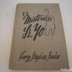 Libros antiguos: EL MISTERIOSO SR.YO. Lote 212989813