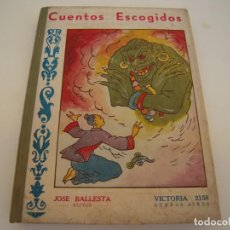 Libros antiguos: CUENTOS ESCOGIDOS. Lote 212990107