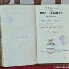 Libros antiguos: DON QUIJOTE DE LA MANCHA. CERVANTES. IMP. GORCHS. TOMO III. 1832.. Lote 213596003