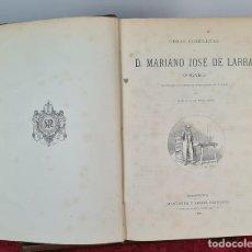 Libros antiguos: OBRAS COMPLETAS DE D. MARIANO JOSE DE LARRA. EDIT. MONTANER Y SIMON. 1886.. Lote 213781840