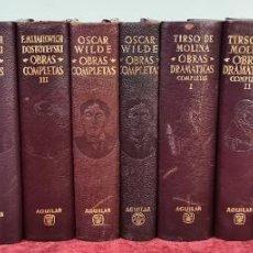 Libros antiguos: COLECCION OBRAS COMPLETAS. 13 VOLUMENES. VVAA. EDIT. AGUILAR. SIGLO XX.. Lote 213783902