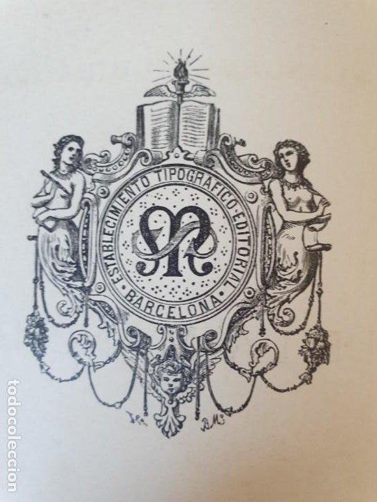 Libros antiguos: 1880.INGENIOSO HIDALGO DON QUIJOTE DE LA MANCHA.MONTANER SIMON. EXCLUSIVA 4 TOMOS BALACA. CERVANTES - Foto 37 - 164889466