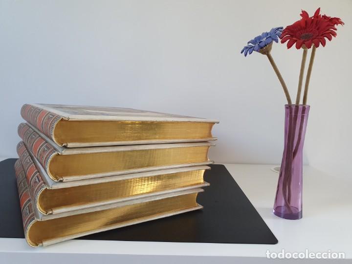 Libros antiguos: 1880.INGENIOSO HIDALGO DON QUIJOTE DE LA MANCHA.MONTANER SIMON. EXCLUSIVA 4 TOMOS BALACA. CERVANTES - Foto 38 - 164889466