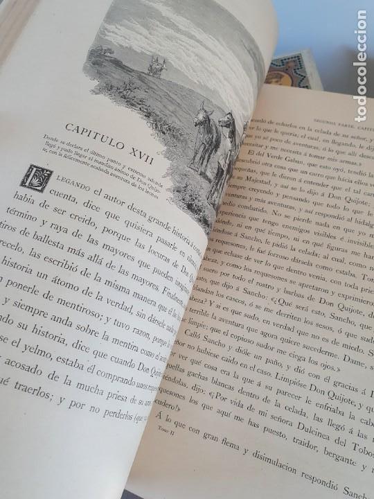 Libros antiguos: 1880.INGENIOSO HIDALGO DON QUIJOTE DE LA MANCHA.MONTANER SIMON. EXCLUSIVA 4 TOMOS BALACA. CERVANTES - Foto 40 - 164889466