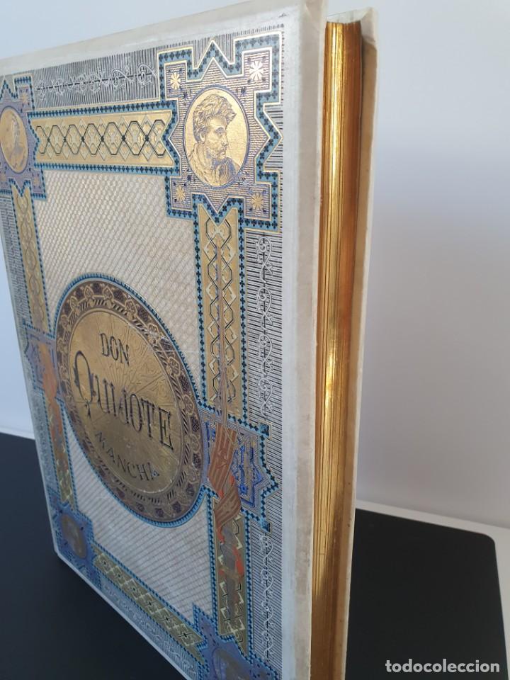 Libros antiguos: 1880.INGENIOSO HIDALGO DON QUIJOTE DE LA MANCHA.MONTANER SIMON. EXCLUSIVA 4 TOMOS BALACA. CERVANTES - Foto 42 - 164889466