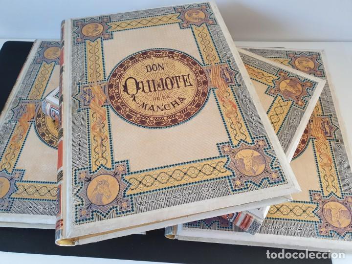 Libros antiguos: 1880.INGENIOSO HIDALGO DON QUIJOTE DE LA MANCHA.MONTANER SIMON. EXCLUSIVA 4 TOMOS BALACA. CERVANTES - Foto 44 - 164889466