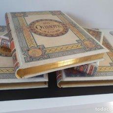 Libros antiguos: 1880.INGENIOSO HIDALGO DON QUIJOTE DE LA MANCHA.MONTANER SIMON. EXCLUSIVA 4 TOMOS BALACA. CERVANTES. Lote 164889466