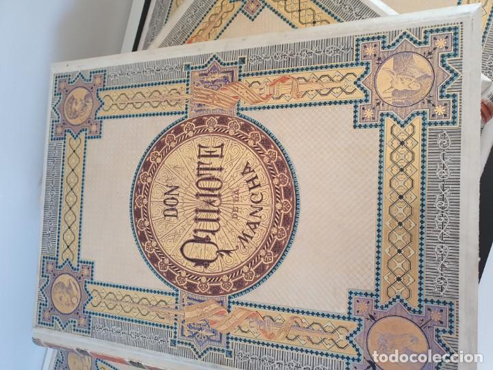 Libros antiguos: 1880.INGENIOSO HIDALGO DON QUIJOTE DE LA MANCHA.MONTANER SIMON. EXCLUSIVA 4 TOMOS BALACA. CERVANTES - Foto 45 - 164889466
