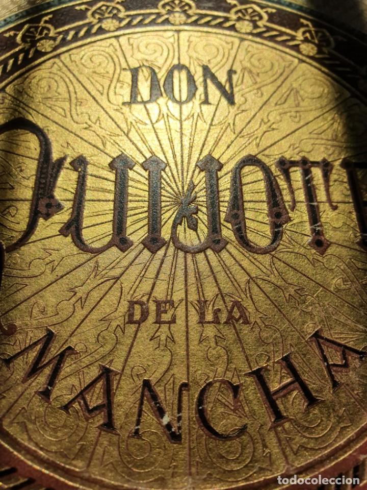 Libros antiguos: 1880.INGENIOSO HIDALGO DON QUIJOTE DE LA MANCHA.MONTANER SIMON. EXCLUSIVA 4 TOMOS BALACA. CERVANTES - Foto 46 - 164889466