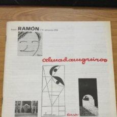 Libros antiguos: BOLETÍN RAMÓN 8 RAMÓN GÓMEZ DE LA SERNA. Lote 214598106