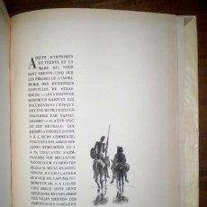 Libros antiguos: CERVANTES, MIGUEL DE: DON QUICHOTTE DE LA MANCHE. CON: LA VIE DE CERVANTES POR MARIANO TOMÁS. 5 VOLS. Lote 39894669