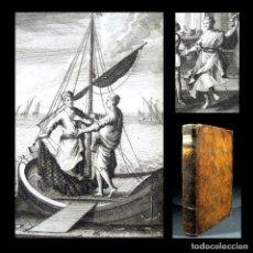 Libros antiguos: AÑO 1719 ANTIGUA ROMA EL CABLE ESTICO COMEDIAS DE PLAUTO GRABADOS PLAUTUS LEIDEN T9. Lote 215911095