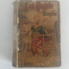 Libros antiguos: DON QUIJOTE DE LA MANCHA, EDICIÓN MICROSCOPICA ILUSTRADA POR M. ANGEL. S.CALLEJA. Lote 215969725