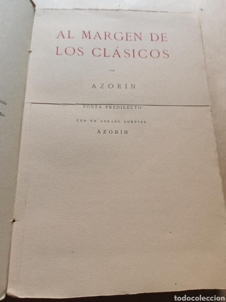 Libros antiguos: Al margen de los clásicos Publicaciones de la Residencia de Estudiantes - Foto 2 - 216714727