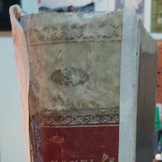 Libros antiguos: LIBRO ENCUADERNADO NOV AVENTURAS - JULIO VERNE (LA ISLA MISTERIOSA) JUBERA Y NOVELAS GUSTAVO AIMARD. Lote 217029491