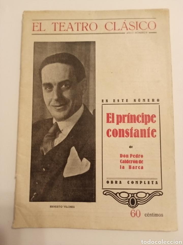 REVISTA EL TEATRO CLÁSICO CALDERÓN DE LA BARCA BARCELONA 1924 (Libros antiguos (hasta 1936), raros y curiosos - Literatura - Narrativa - Clásicos)