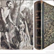 Libri antichi: DON QUIJOTE DE LA MANCHA. PRECIOSO LIBRO ILUSTRADO DEL SIGLO XIX.. Lote 217626180