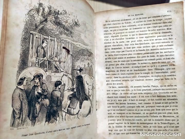 Libros antiguos: DON QUIJOTE DE LA MANCHA. PRECIOSO LIBRO ILUSTRADO DEL SIGLO XIX. - Foto 8 - 217626180