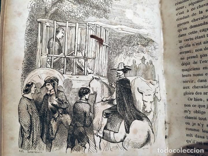 Libros antiguos: DON QUIJOTE DE LA MANCHA. PRECIOSO LIBRO ILUSTRADO DEL SIGLO XIX. - Foto 9 - 217626180