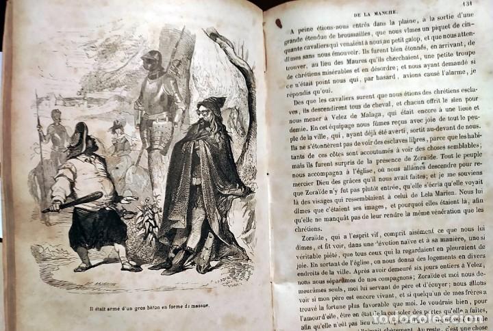 Libros antiguos: DON QUIJOTE DE LA MANCHA. PRECIOSO LIBRO ILUSTRADO DEL SIGLO XIX. - Foto 11 - 217626180
