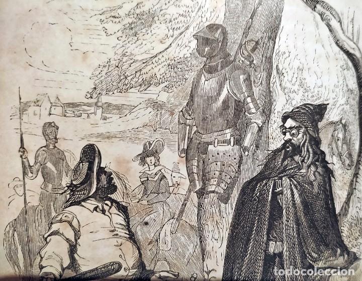 Libros antiguos: DON QUIJOTE DE LA MANCHA. PRECIOSO LIBRO ILUSTRADO DEL SIGLO XIX. - Foto 12 - 217626180