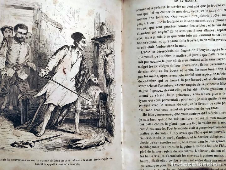 Libros antiguos: DON QUIJOTE DE LA MANCHA. PRECIOSO LIBRO ILUSTRADO DEL SIGLO XIX. - Foto 13 - 217626180