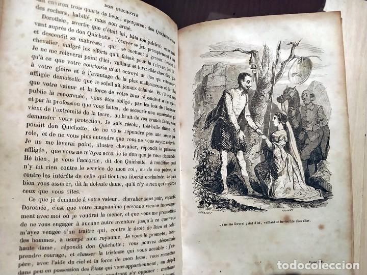 Libros antiguos: DON QUIJOTE DE LA MANCHA. PRECIOSO LIBRO ILUSTRADO DEL SIGLO XIX. - Foto 14 - 217626180